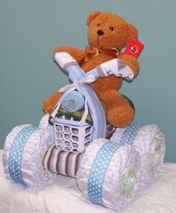 The four wheeler- baby shower gift idea