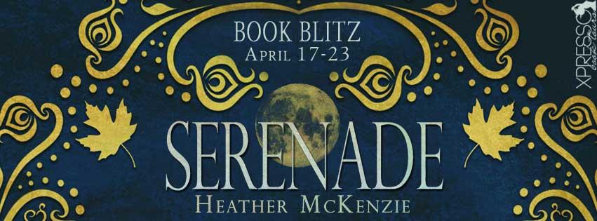 Serenade blog tour banner