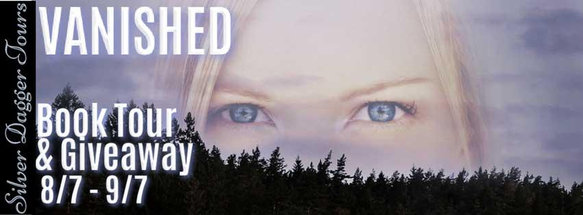 Vanished blog tour banner