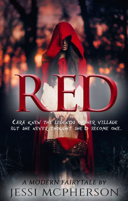 Red modern day fairy tale