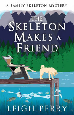 Skeleton makes a friend