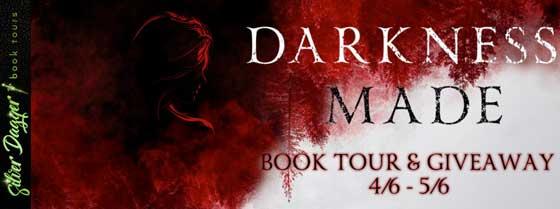 Darkness Made blog tour